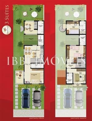 Casa Estilo Americano Com 3 Quartos