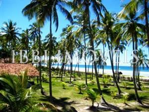 Linda Casa Com 58M De Praia Localizada Próxima A
